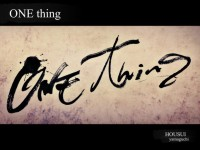 one-thing-1