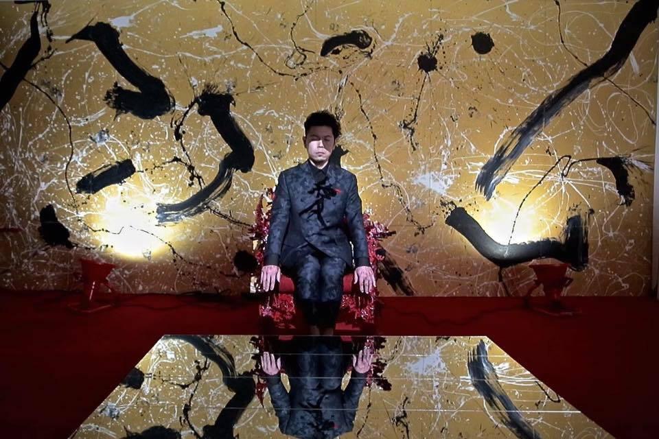 オーケストラ,展覧会,iPhone,Gold,愛の椅子,書道家,書家,書道,Calligraphy,Calligrapher,ART,山口芳水,YamaguchiHousui