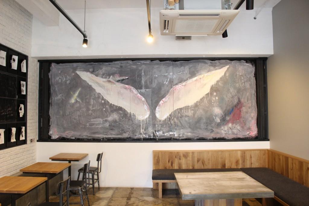 天使の羽根 デザイン 作品 書道家 アート