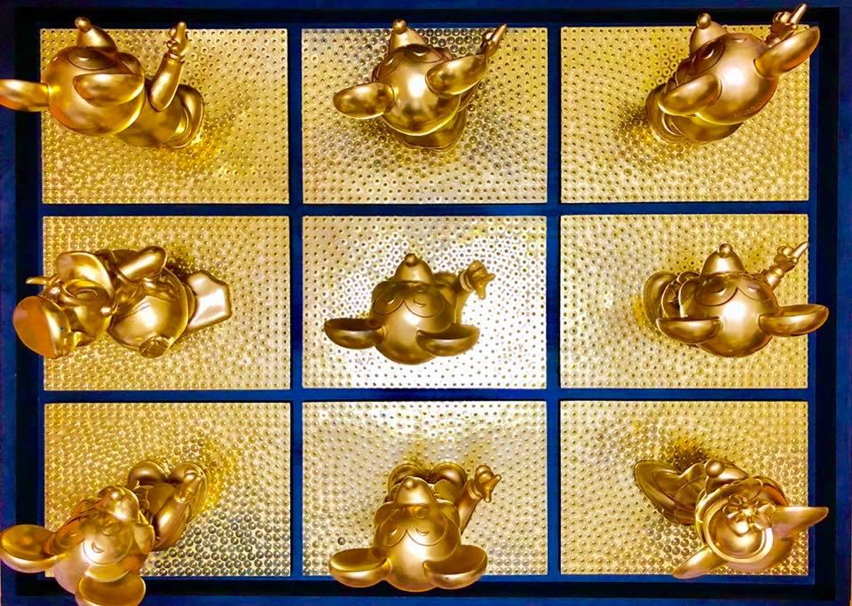 貪欲 欲 国立新美術館 書道家 山口芳水 G シリーズ コンセプト 画鋲 羅列 ART アート アーティスト キャプション