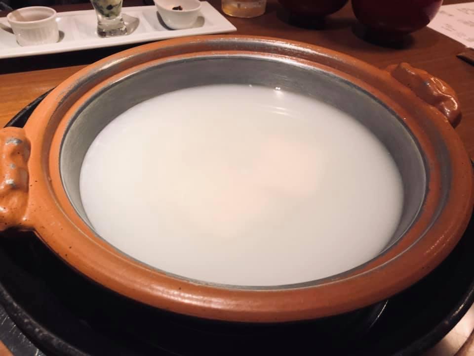 和多屋別荘 湯豆腐