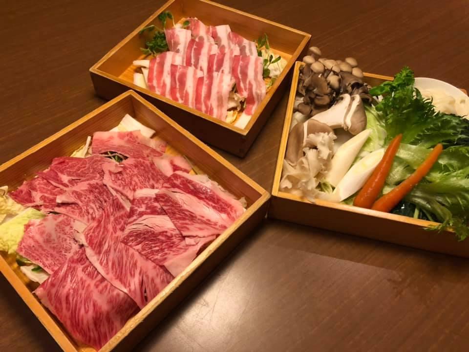 和多屋別荘 佐賀牛 しゃぶしゃぶ 夕食 ディナー