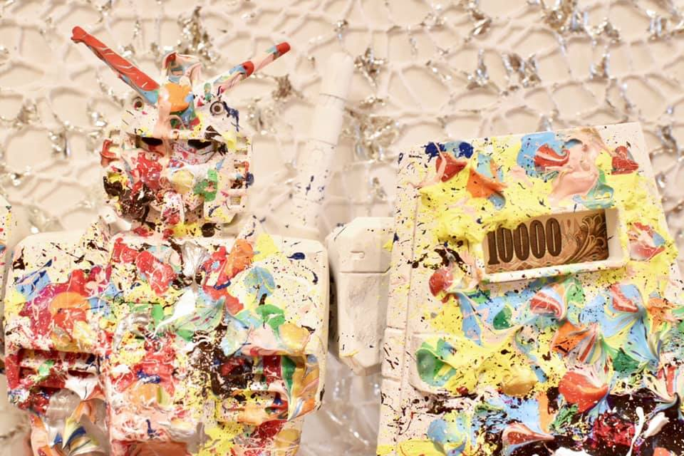 """[ 佐賀の鹿島市 人口 3万人の地 イベント会場で """"アート作品"""" が4日間で  【 合計 12,336,200円 】約1230万円  売れた プロデューサー 山口賢人氏 とは? ]"""