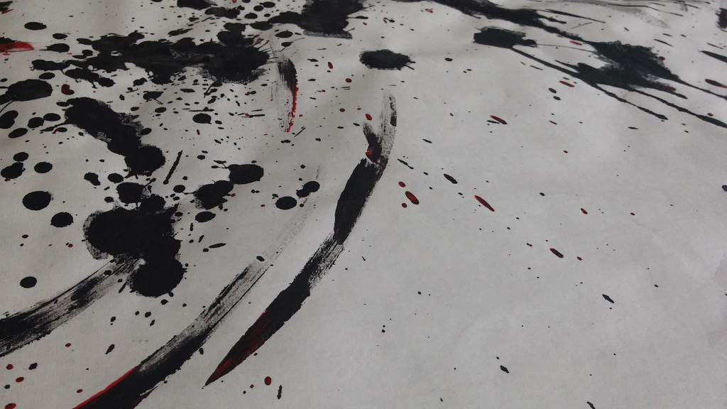 炎の博記念堂,書道,作品,パフォーマンス,山口芳水,有田役所,Calligraphy