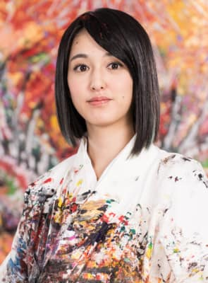 WHITE STONE 展示会 東京 銀座 山口芳水 小松美羽