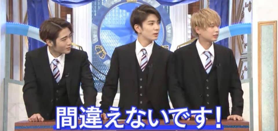 HI HI Jets ジャニーズ 番組 裸の少年 テレビ朝日