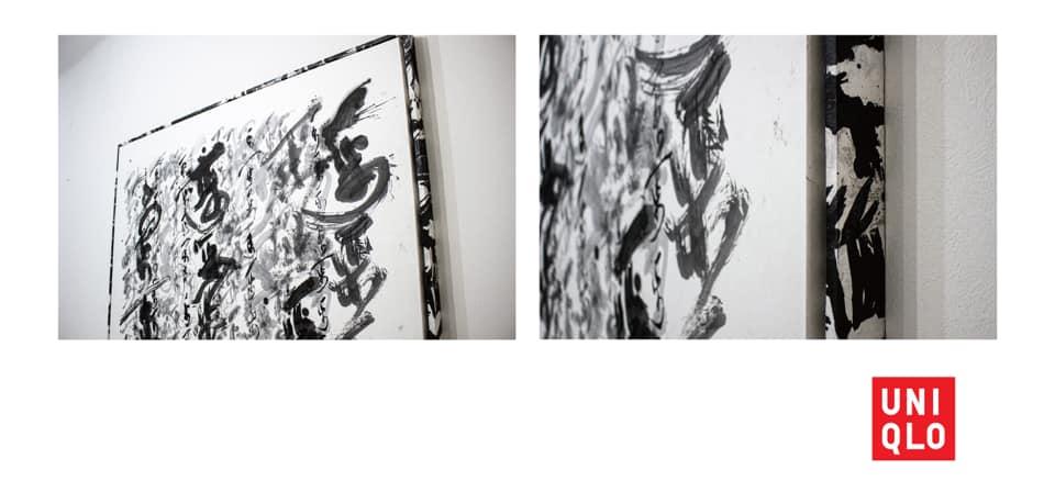 アート アーティスト art artist UNIQLO UT design 書道家 山口芳水 デザイン YAMAGUCHIHOUSUI