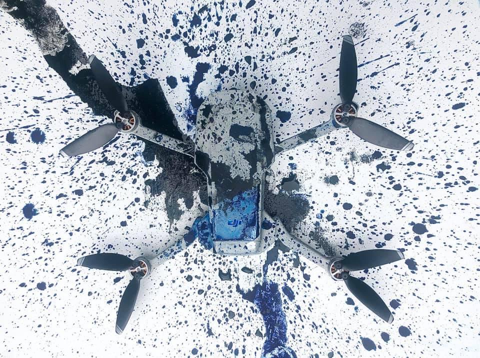ドローン アート drone art 作品 works