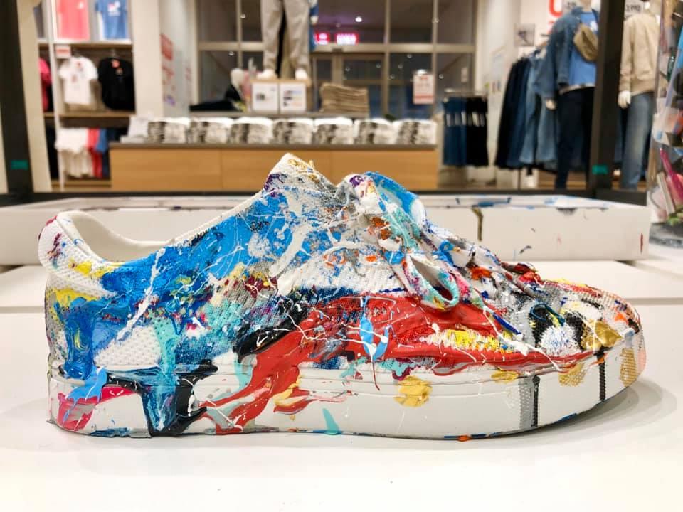 NOW UNIQLO 今 ユニクロ 2020 ゆめタウン佐賀店  UT Design 靴 シューズ