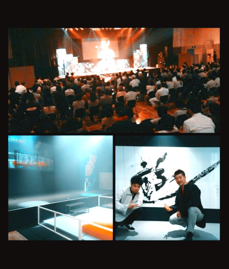 【アクロス福岡】【土師彩鶴】先生の出版イベントで大字パフォーマンスをさせて頂きました。