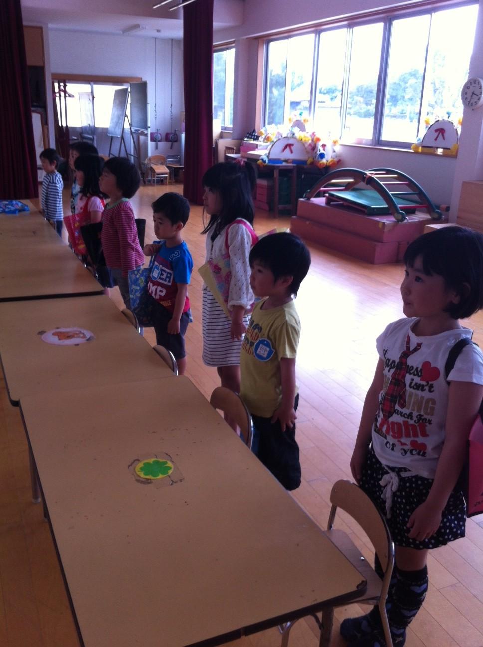 書き方(ひらがな カタカナ) 教室 新栄保育園
