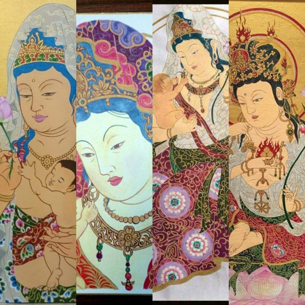 牛丸和人 神仏画展